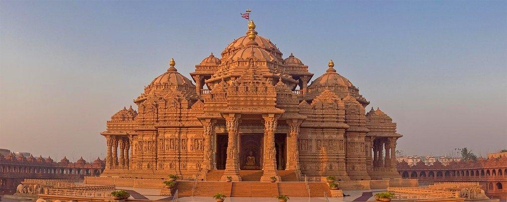 Храм Акшардхам, Нью-Дели (Индия): фото