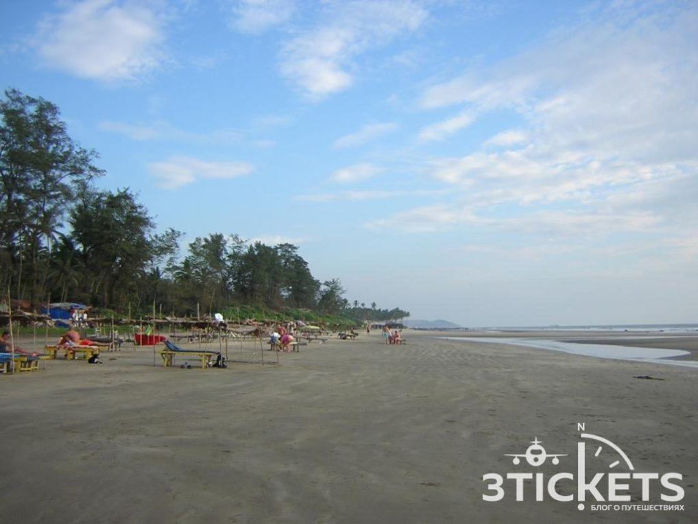 Пляжи Гоа: Ашвем (фото)