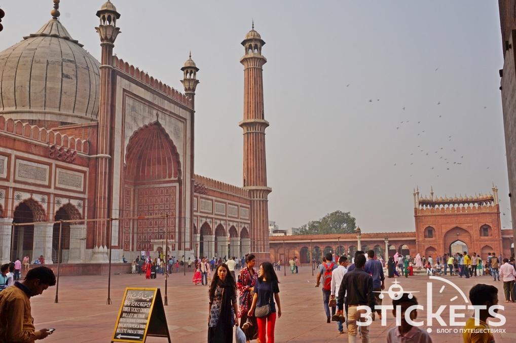 Соборная Мечеть, Дели (Индия): фото