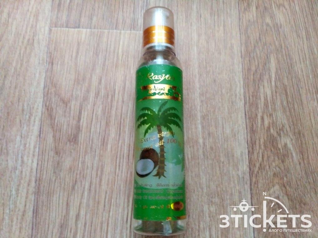 Что привезти из Таиланда: хорошее кокосовое масло