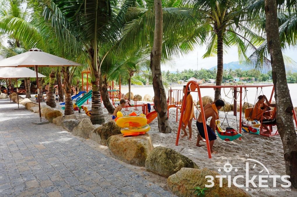 Детская площадка в I Resort