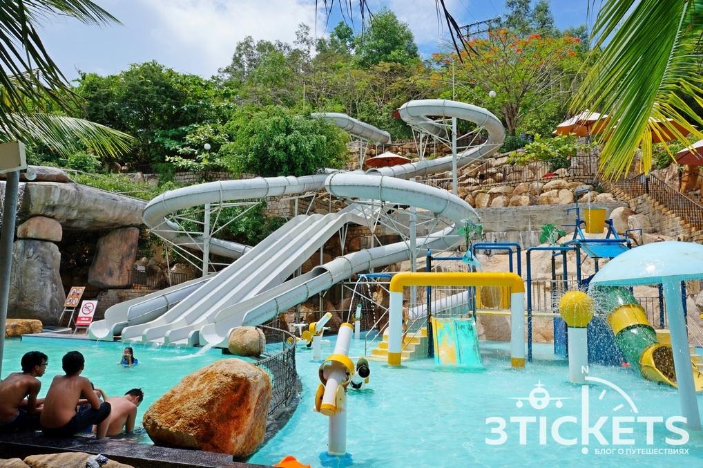 Водные горки в I Resort: фото
