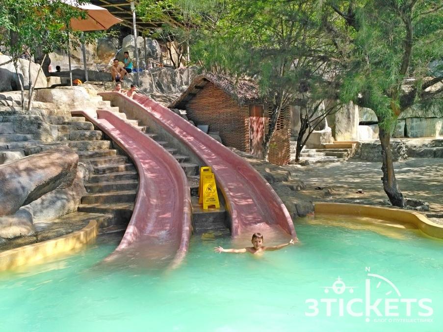 Горки в бассейнах I Resort