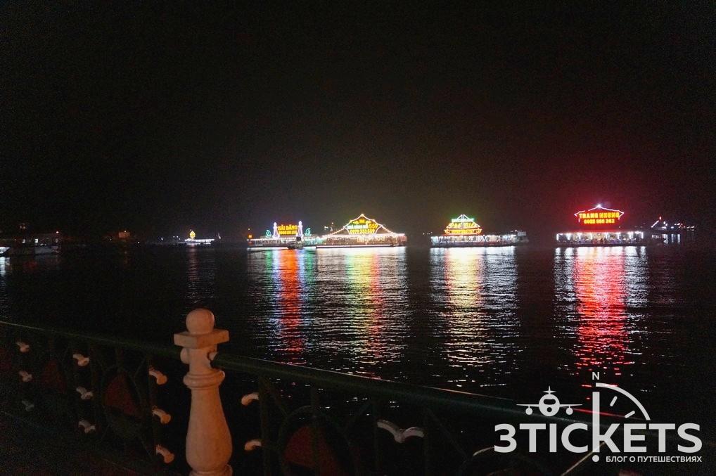 Набережная на острове Кат Ба (Халонг)