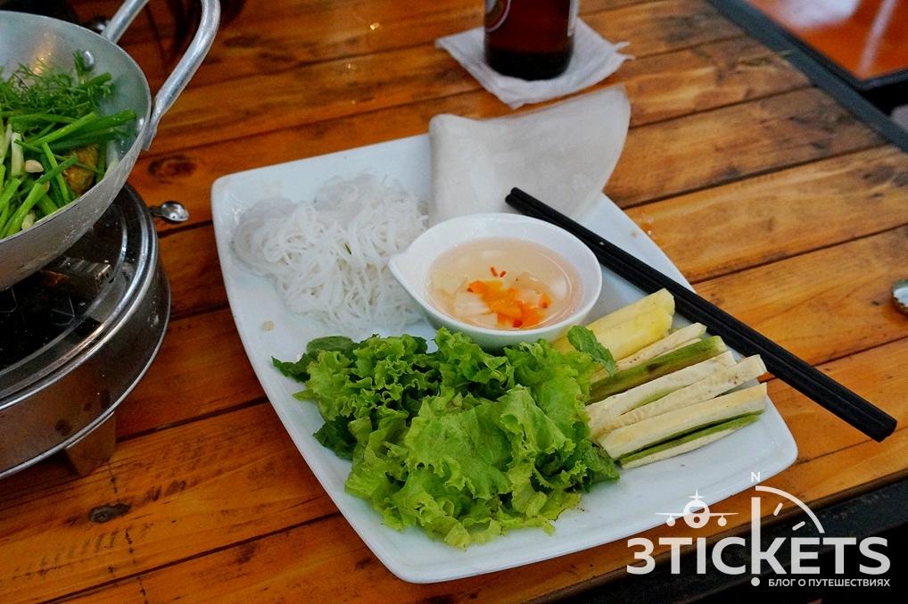 Дополнительные ингредиенты к блюду Ча Ка