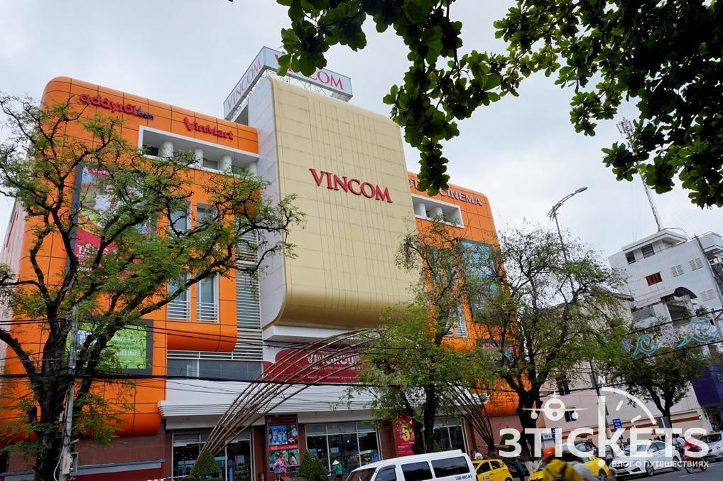 Торговый центр Vincom (бывший Максимарк) в Нячанге, Вьетнам