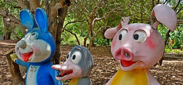 Самое странное место Фантьета иМуйне: заброшенный парк развлечений