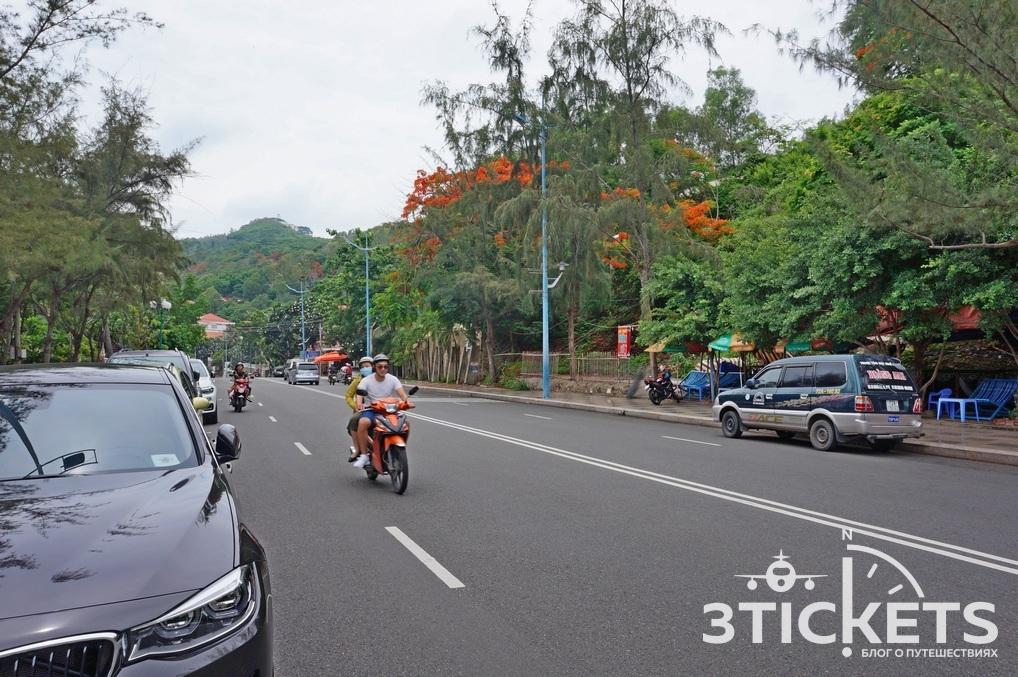 Набережная и дороги в Вунгтау