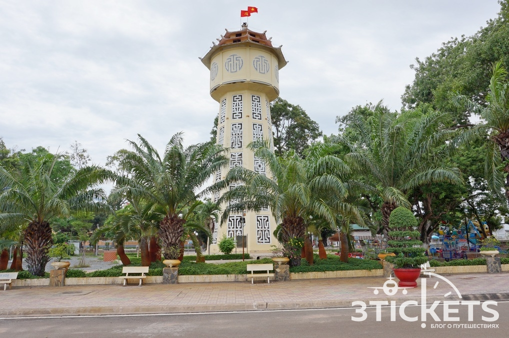 Водонапорная башня в Фантьете