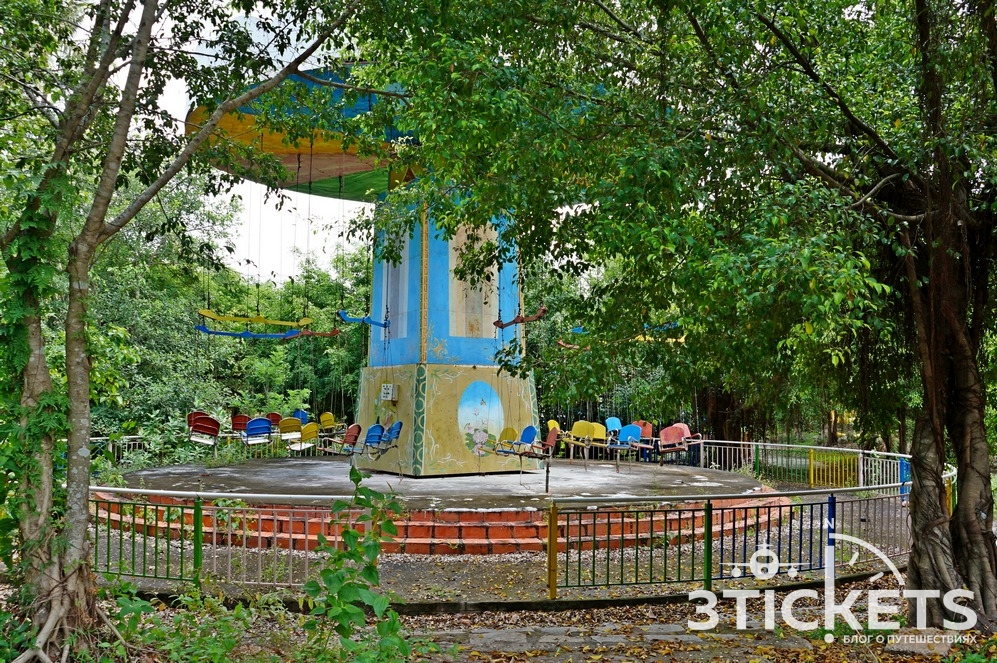 Заброшенный парк развлечений в Фантьете, Муйне