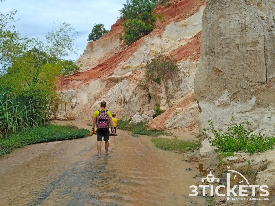 Ручей Фей в Муйне, Вьетнам