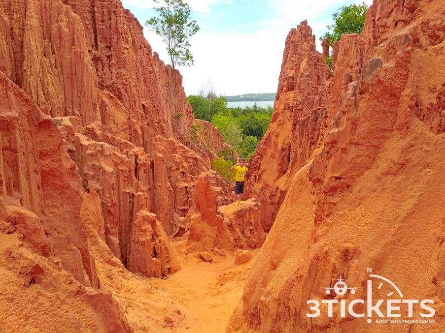 Красный каньон в Муйне, Вьетнам
