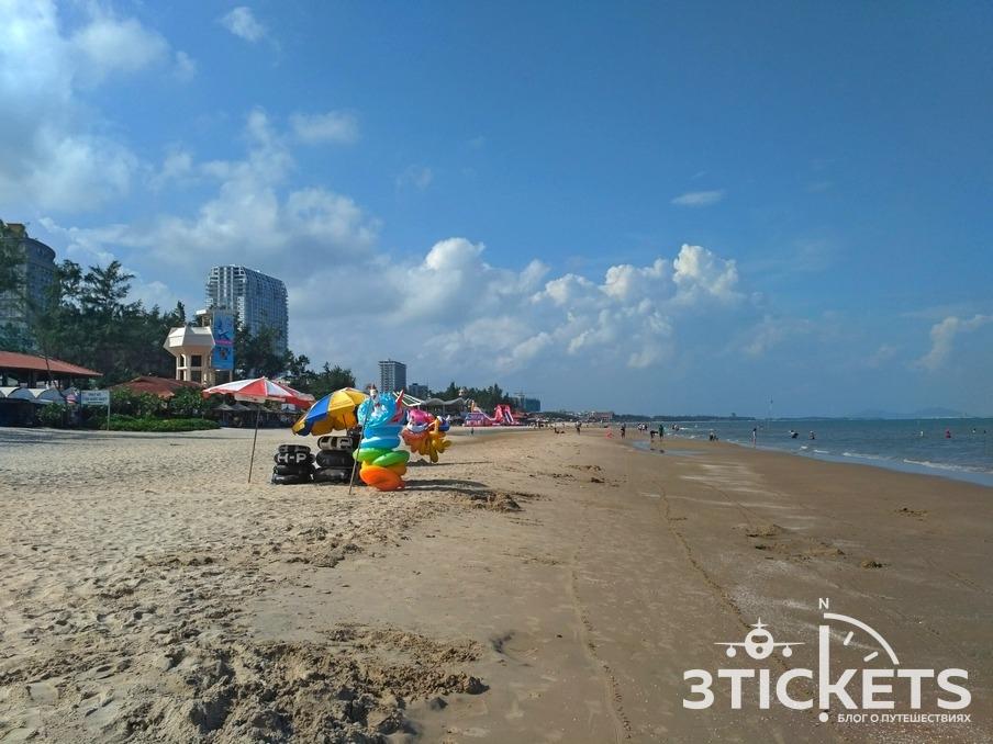 Задний пляж в Вунгтау: фото