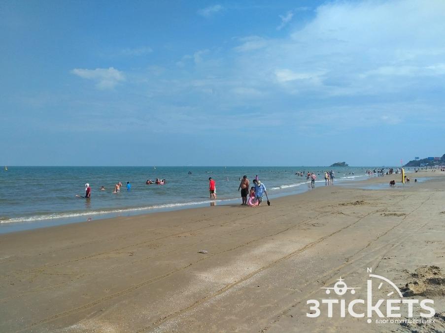 Пляжи Вунгтау, Задний пляж: фото