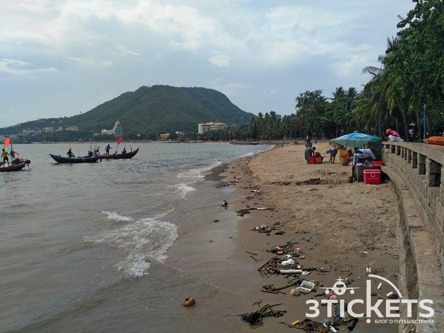 Пляжи Вунгтау, Передний пляж: фото