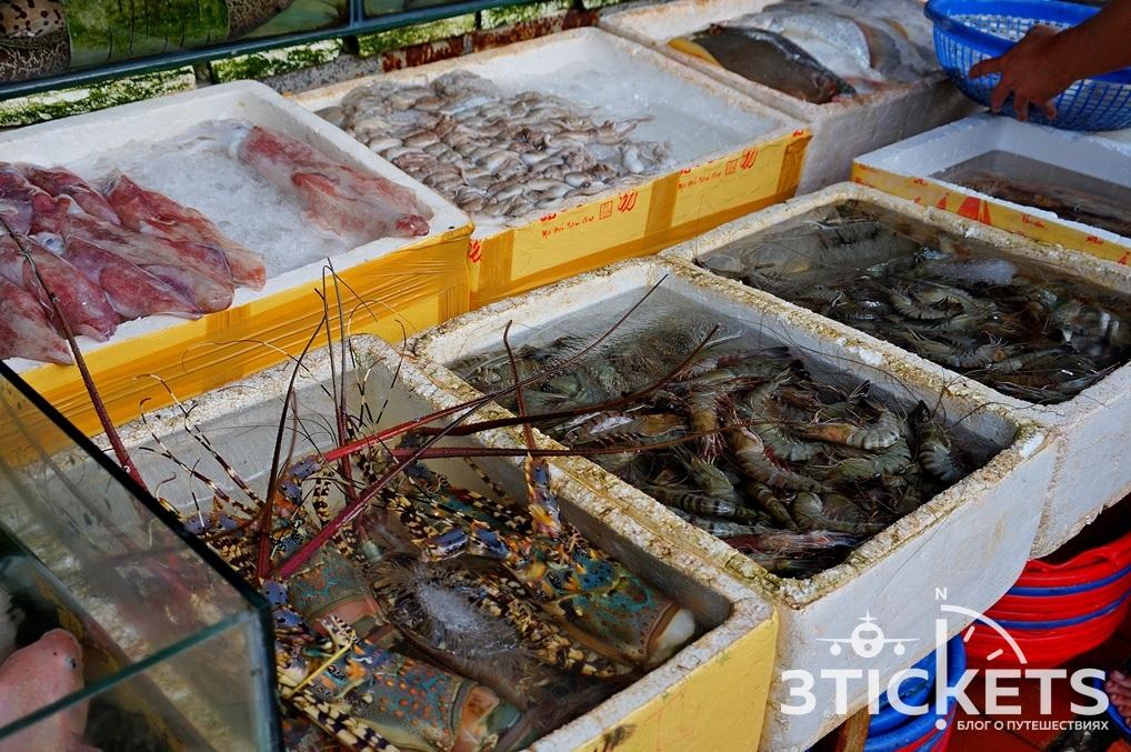 Морепродукты в Муйне