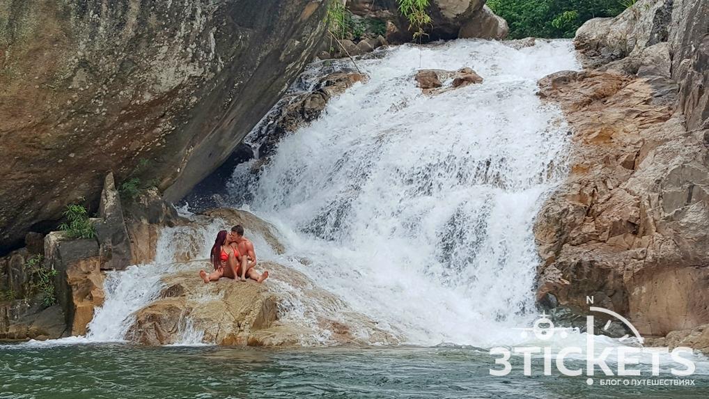 Экскурсия на водопады Бахо в Нячанге