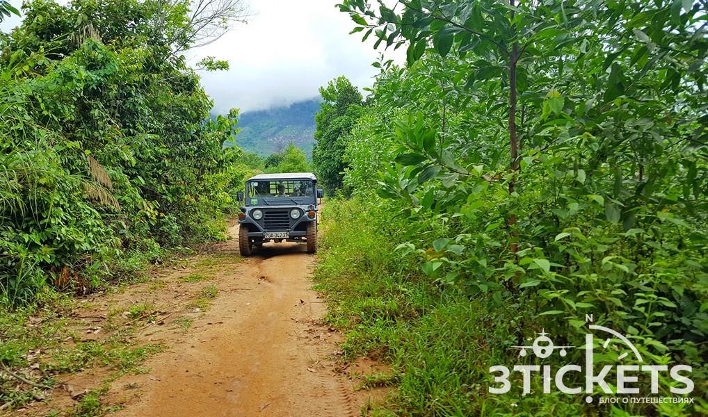 Туры на джипах из Нячанга в Далат