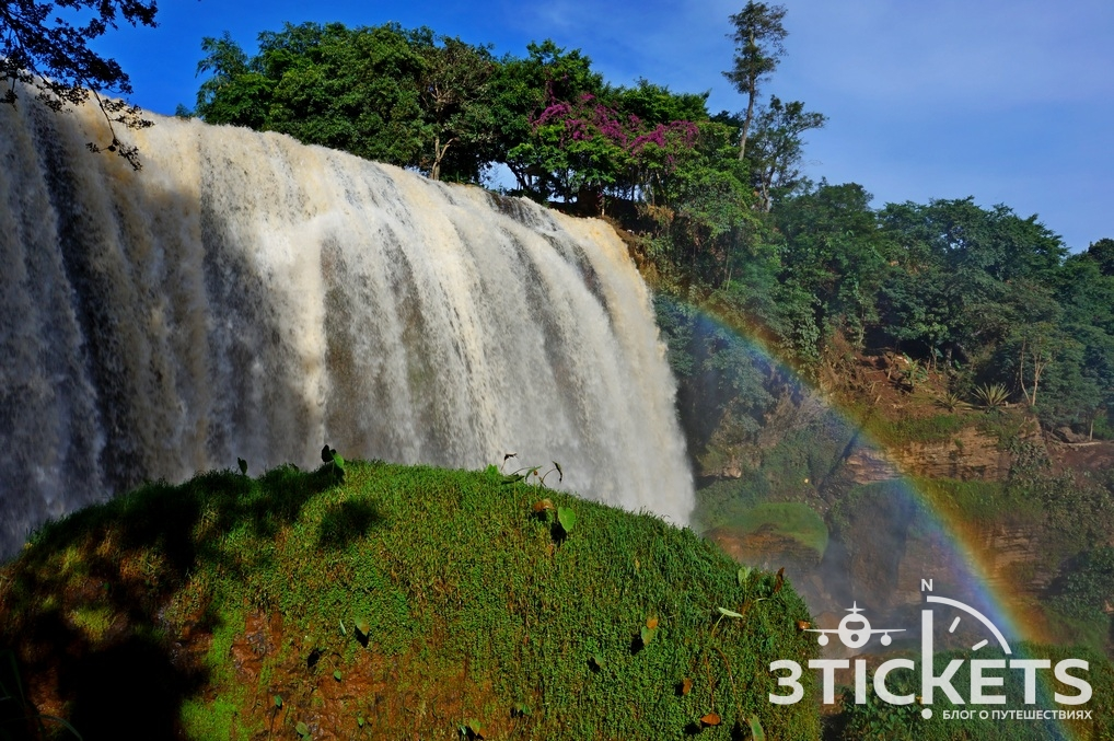 Водопад Слон в Далате: фото