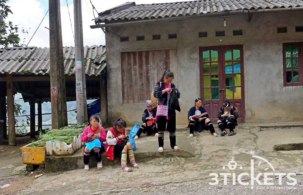 Жители Северного Вьетнама