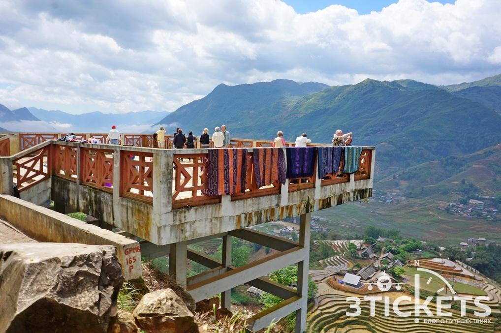 Экскурсия на рисовые террасы Вьетнам