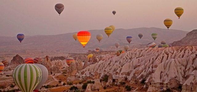 Уроки воздухоплавания или пролетая навоздушном шаре над Каппадокией