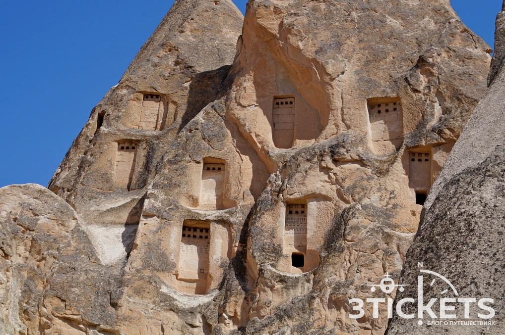 Каппадокия, дома в пещерах