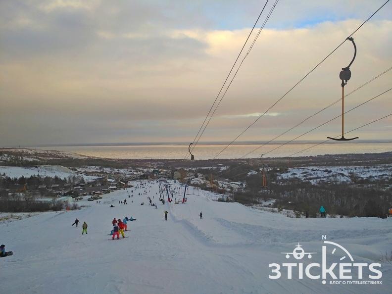 Горнолыжный курорт Хвалынск