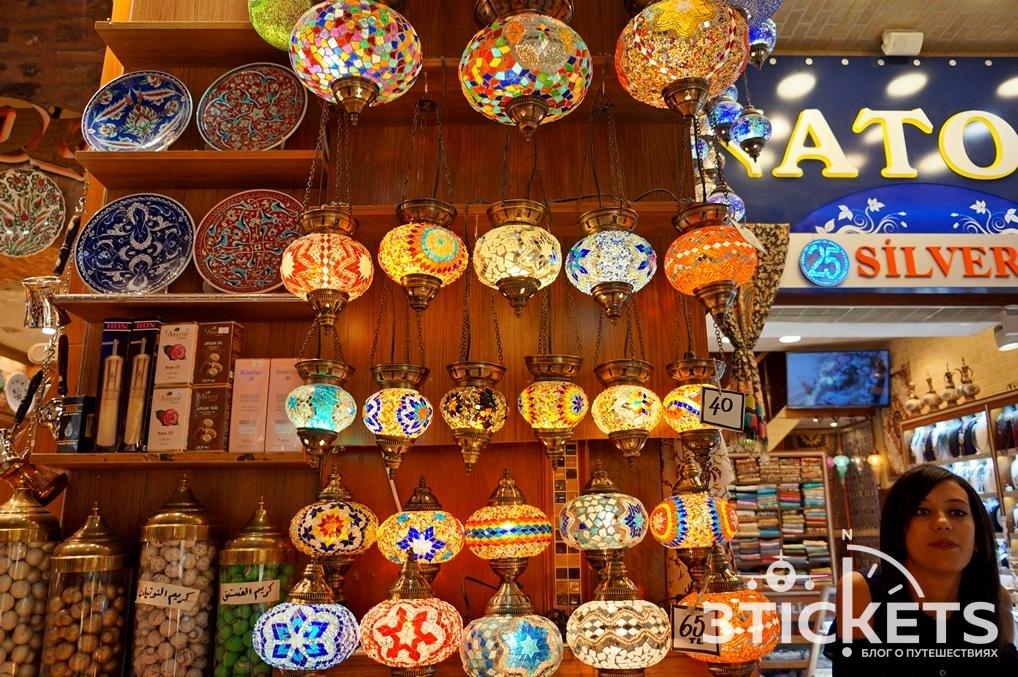 Светильники из мозаики