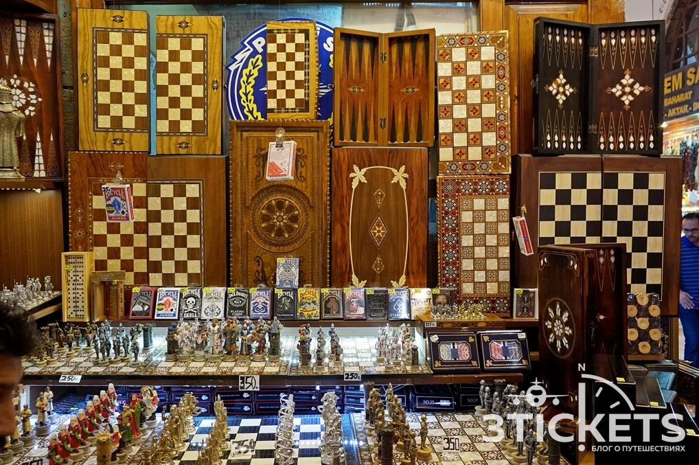 Турецкие нарды и шахматы