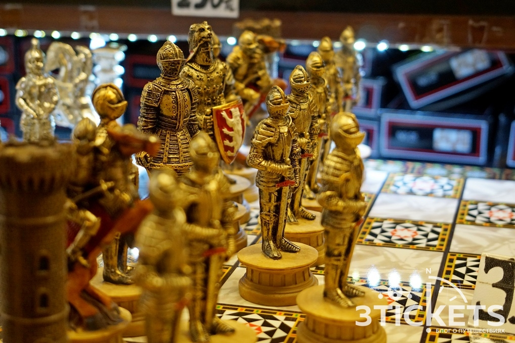 Шахматы из Турции