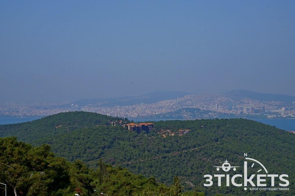 Заброшенный греческий приют на Принцевых островах, Стамбул, Турция