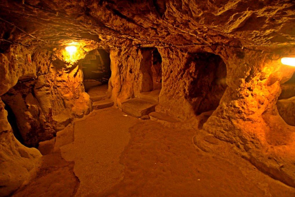 Подземные города Каппалоии