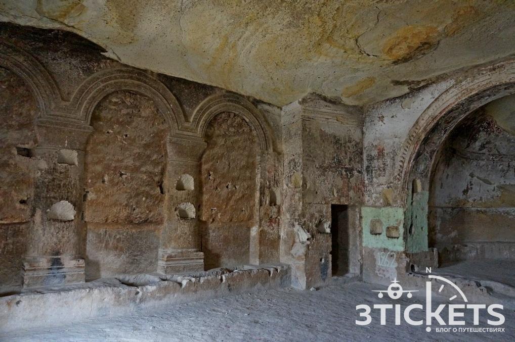 Христианская церковь в крепости Чавушин, Каппалокия