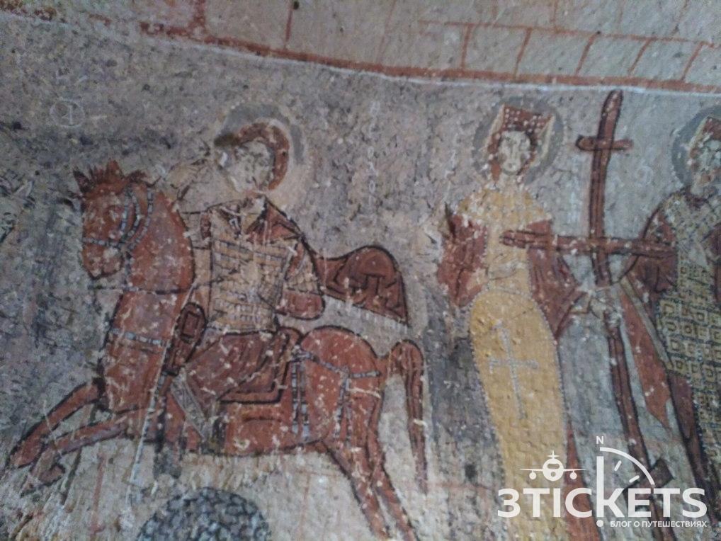 Музей под открытым небом в Гереме, Каппадокия
