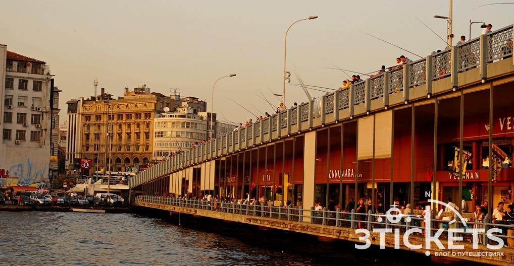 Галатский мост фото