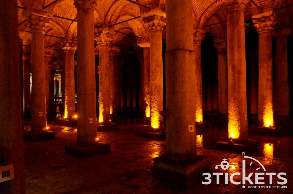 Древнее водохранилище в Стамбуле