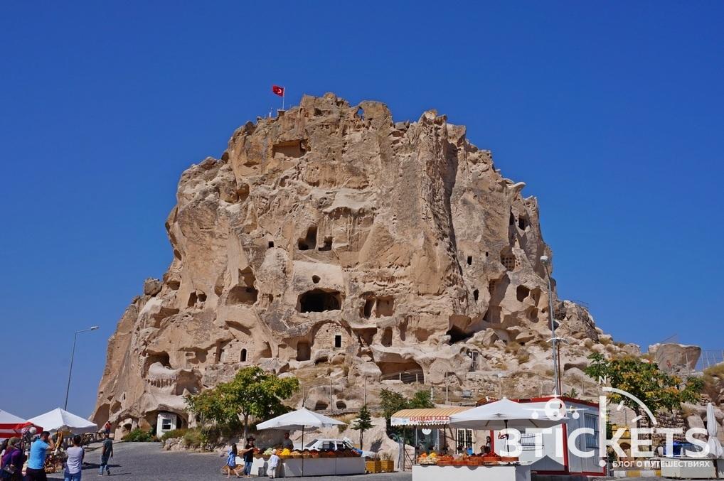 Крепость Учхисаар в Каппадокии