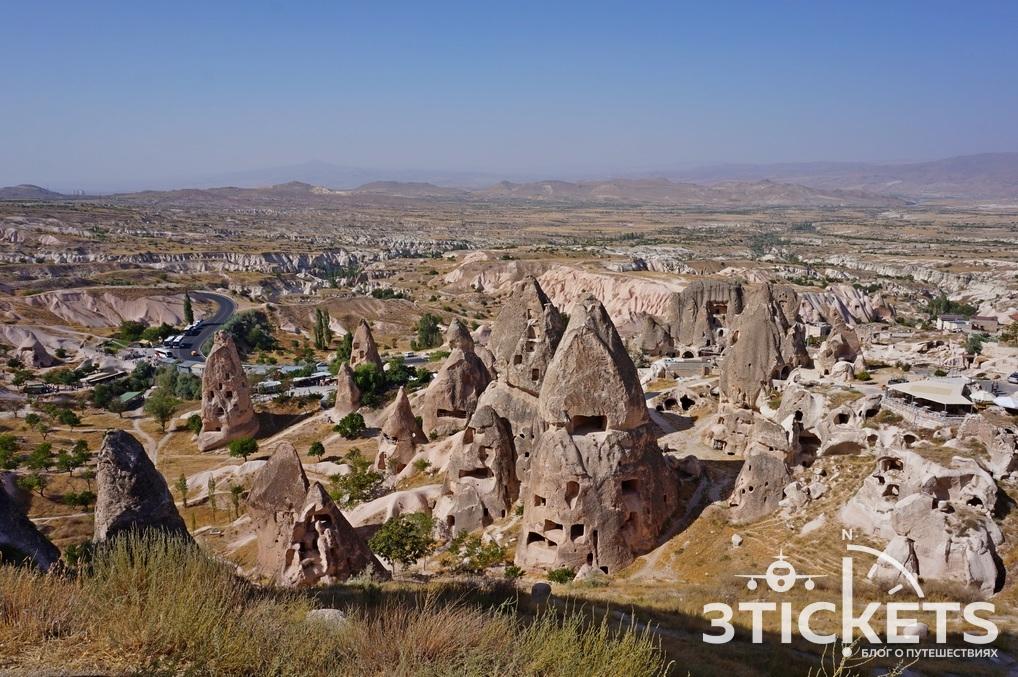 Крепость Учхисар в Каппадокии