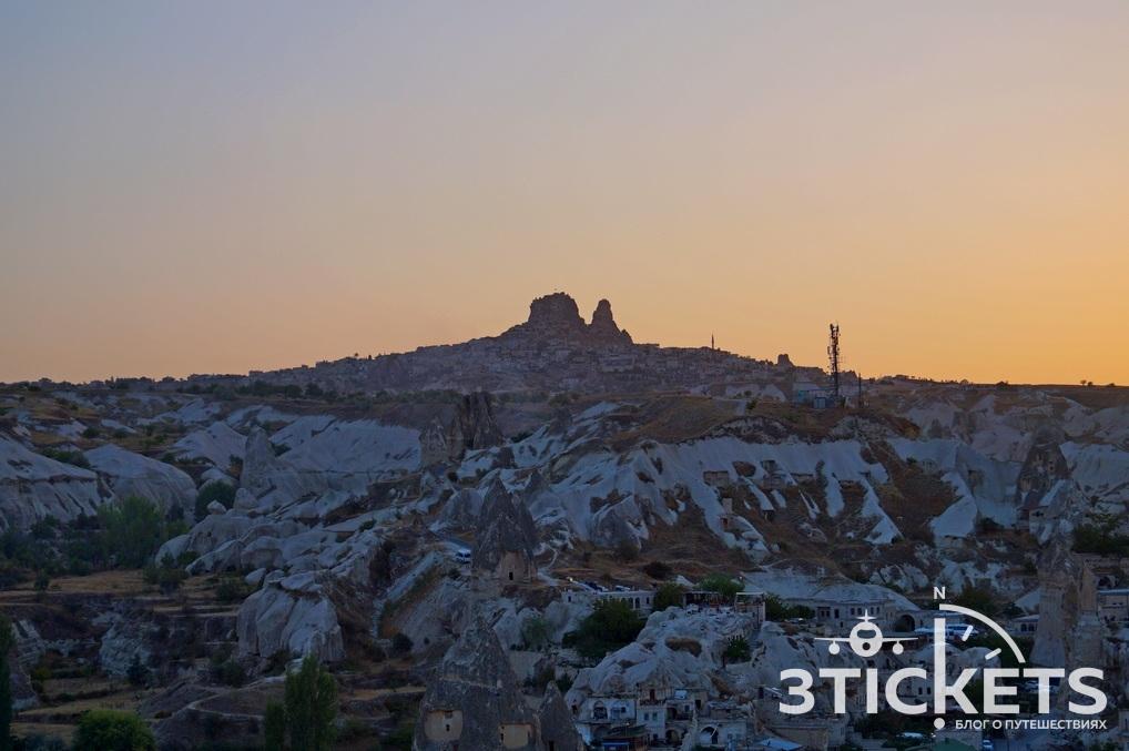 Крепость Учхисар, Каппадокия (Турция)