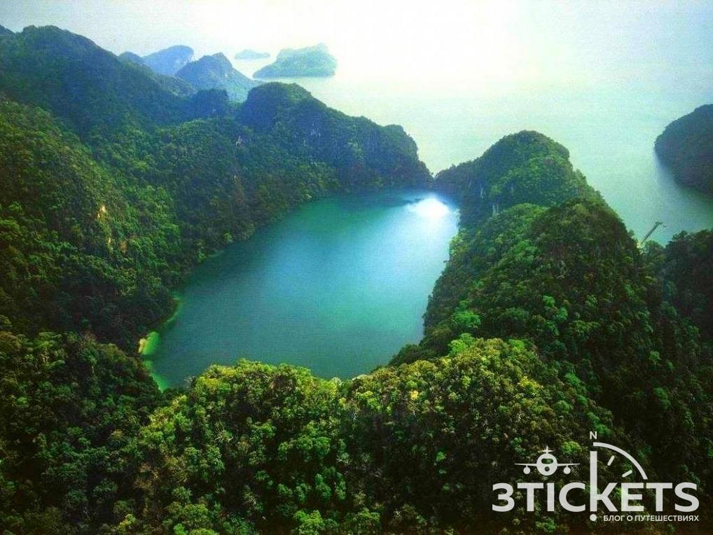 Озеро беременной девы, Лангкави, Малайзия