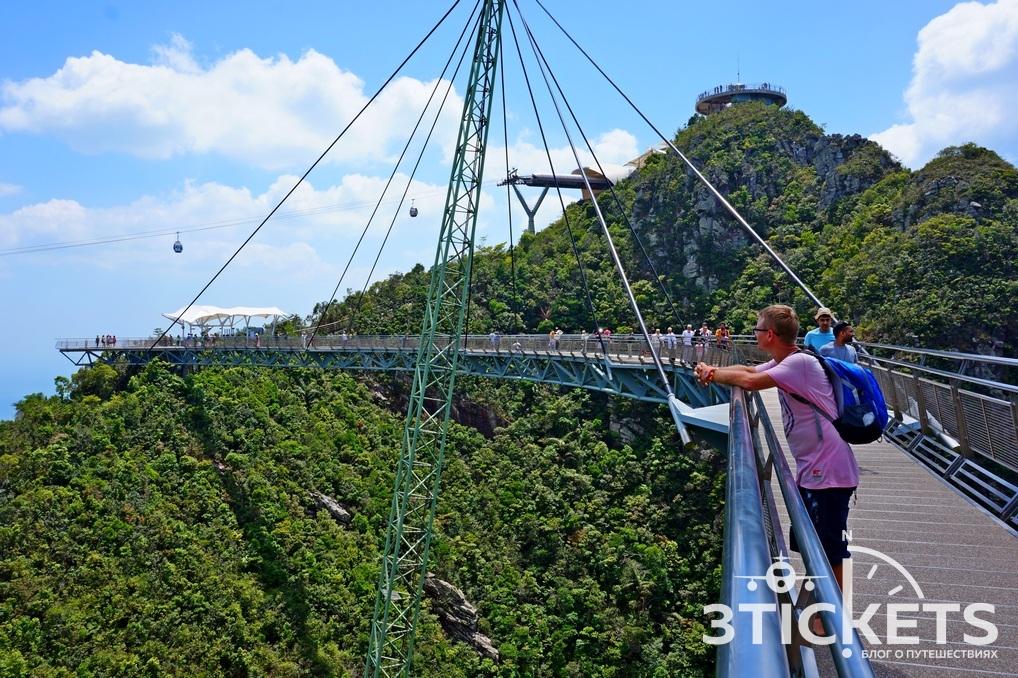 Небесный мост, Лангкави,Малайзия