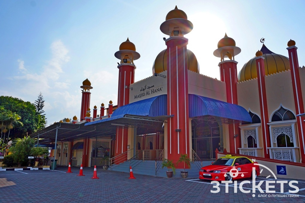 Мечеть Аль-Хана, Лангкави, Малайзия