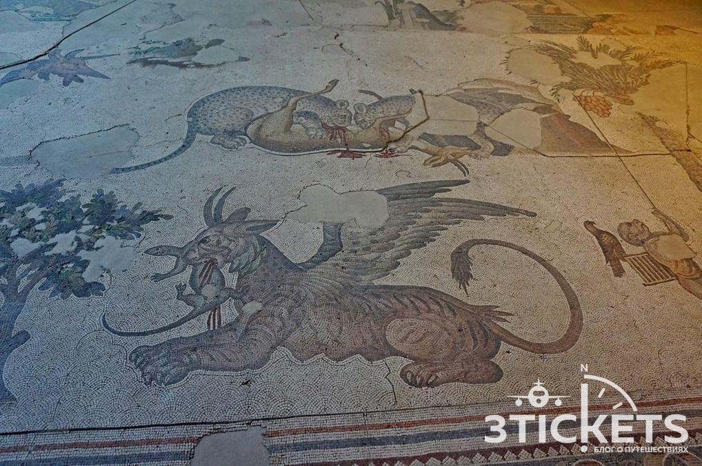 Древние мозаики в Стамбуле