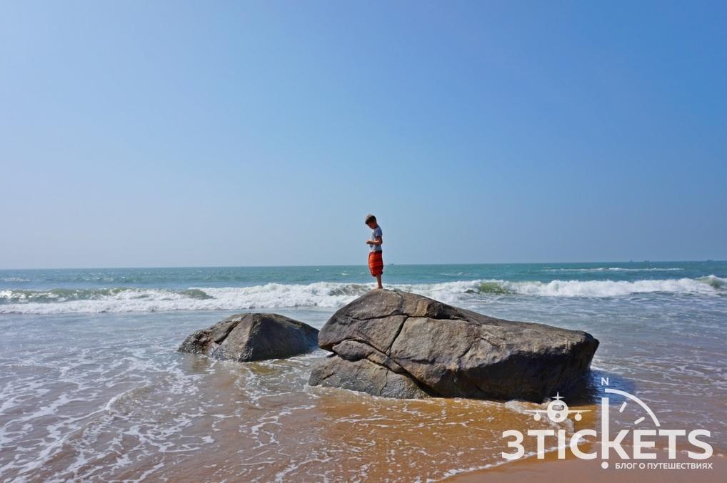 Пляж Агонда, Южное Гоа