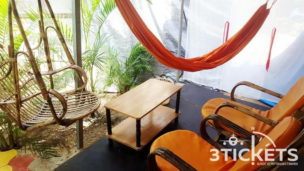 Отель бунгало на пляже Палолем Tent Cressida Cyrus