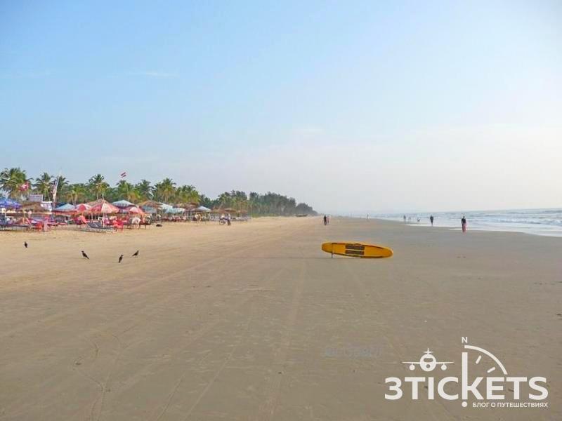Пляж Мажорда, Южное Гоа