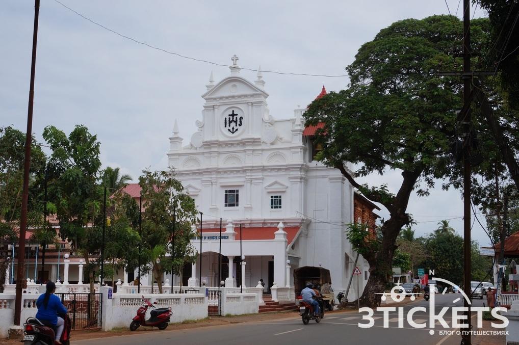 Католическая церковь в Колве, Южное Гоа