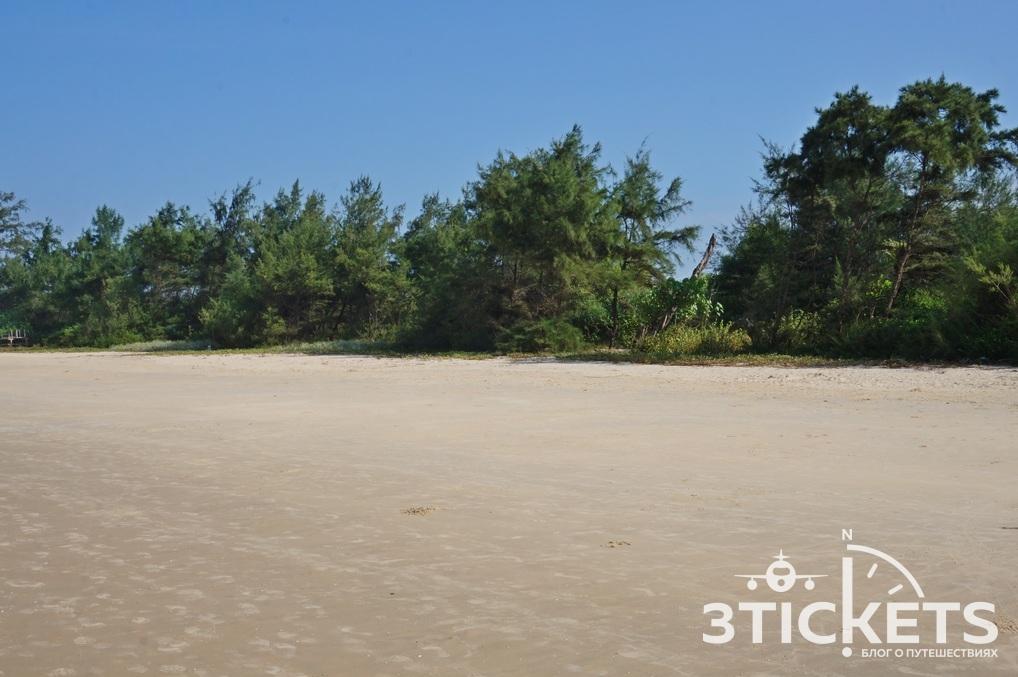 Пляж Кавелоссим, Южное Гоа