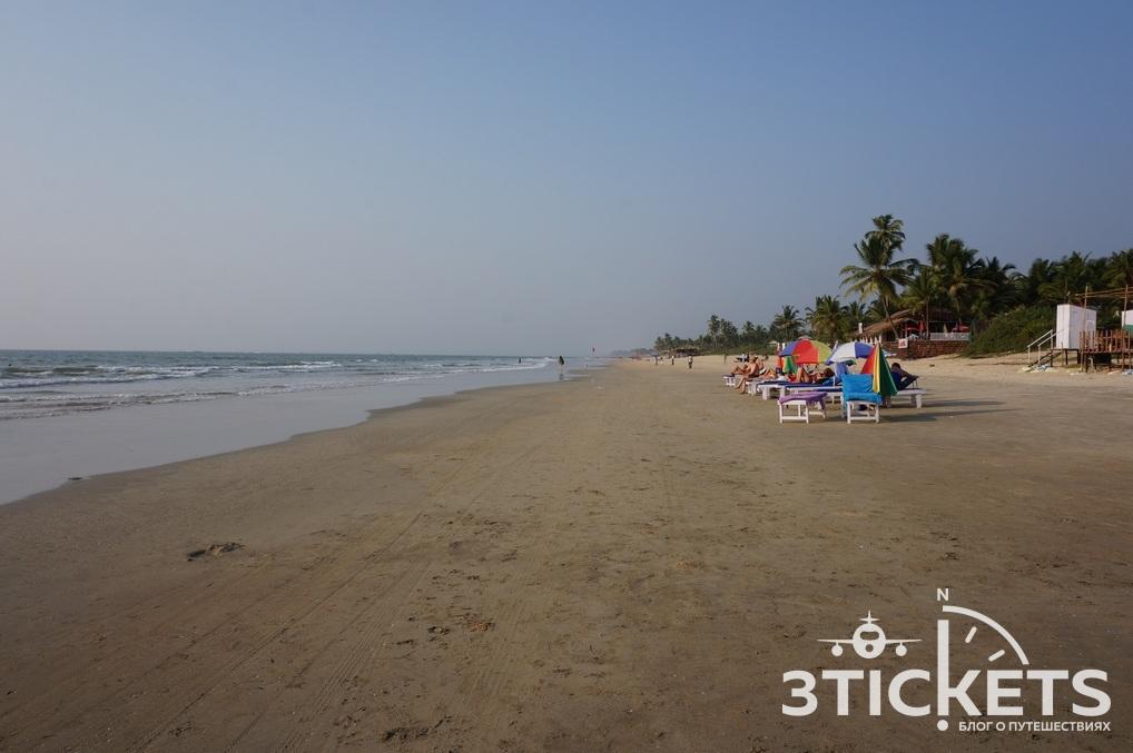 Пляж Сернабатим, Южное Гоа